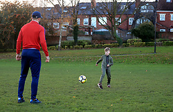 England footballer Kyle Walker was invited back to his hometown of Sheffield by Lidl to meet a 10 year old England hopeful dreaming of following in his footsteps, and launch the England partner's Dream Big with Lidl campaign