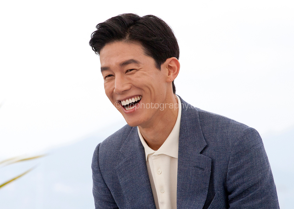 Actor Kim Moo-Yul at The Gangster, The Cop, The Devil film photo call at the 72nd Cannes Film Festival, Thursday 23rd May 2019, Cannes, France. Photo credit: Doreen Kennedy