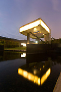 A view of the Sifang Art Museum by Steven Holl, at the China International Practical Exhibition of Architecture (CIPEA) in Nanjing, Jiangsu Province, China on 10 October,  2013. The CIPEA has 20 buildings each designed by a different architect / artist.