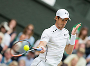 WIMBLEDON - GB -  4th July 2016: The Wimbledon Tennis Championship continues at the All England Lawn Tennis Club in S.E. London.<br /> <br /> Centre Court. Andy Murray vs Nick Kyrgios<br /> ©Ian Jones/Exclusivepix Media