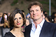 Colin Firth and his wife Livia Giuggioli arriving at the International Indian Film Academy Awards (IIFA) ceremony at the Hallam Arena in Sheffield for the annual IIFA awards. The awards were known as the 'Bollywood Oscars' and ran from 7-10th June. They were watched by an estimated global television audience 500 million people.