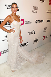 February 24, 2019 - West Hollywood, CA, USA - LOS ANGELES - FEB 24:  Kara Del Toro at the Elton John Oscar Viewing Party on the West Hollywood Park on February 24, 2019 in West Hollywood, CA (Credit Image: © Kay Blake/ZUMA Wire)
