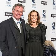 NLD/Hilversum/20190311  - Uitreiking Buma Awards 2019, Harry van Hoof en dochter