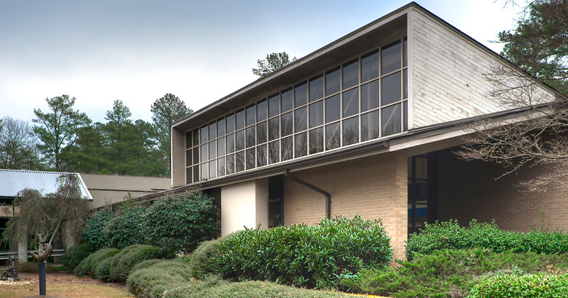 Fulton County Library in Sandy Springs