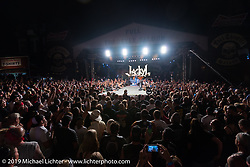 Jackyl Thursday at the Full Throttle Saloon is always packed for this annual free concert during the Sturgis Black Hills Motorcycle Rally. SD, USA. August 7, 2014.  Photography ©2014 Michael Lichter.