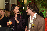 ROSANNA FALCONER, ROBBIE HONEY, The Datai Langkawi Relaunch event, Spring, Somerset House,  London. 1 March 2018