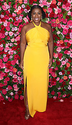 June 11, 2018 - New York City, New York, USA - 6/10/18.Uzo Aduba at The 72nd Annual Tony Awards held at Radio City Music Hall in New York City..(NYC) (Credit Image: © Starmax/Newscom via ZUMA Press)