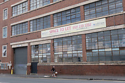 Old industrial building with space to let in Deritend area near the city centre on 3rd August 2020 in Birmingham, United Kingdom. Deritend is a historic area of Birmingham. It is first mentioned in 1276. Today Deritend is usually considered to be part of Digbeth. Digbeth is an area of Central Birmingham. Following the destruction of the Inner Ring Road, Digbeth is now considered a district within Birmingham City Centre. As part of the Big City Plan, Digbeth is undergoing a large redevelopment scheme that will regenerate the old industrial buildings into apartments, retail premises, offices and arts facilities. There is still however much industrial activity in the south of the area.