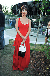 NATHALIE IMBRUGLIA at the annual Serpentine Gallery Summer Party sponsored by Canvas TV  the new global arts TV network, held at the Serpentine Gallery, Kensington Gardens, London on 9th July 2009.