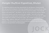 Bhutan, Documentary, Mangde Chu Expedition