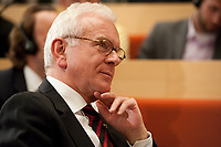 15 SEP 2010, BERLIN/GERMANY:<br /> Dr. Hans-Gert Poettering, MdEP, Vorsitzender der Konrad-Adenauer-Stiftung, Tag der Konrad-Adenauer-Stiftung, KAS<br /> IMAGE: 20100915-02-170<br /> KEYWORDS: Dr. Hans-Gert Pöttering