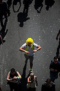 Yellow is the color of the demonstration.