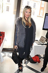 CAPRICE BOURRET at a lunch to launch Cash & Rocket on Tour 2013 hosted by Julia Brangstrup in aid of Orpan Aid and Shine on Sierrra Leone held at Banca, 40 North Audley Street, London on 29th April 2013.
