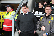 Burton manager Nigel Clough before the Sky Bet League 1 match between Burton Albion and Bury at the Pirelli Stadium, Burton upon Trent, England on 2 April 2016. Photo by Nigel Cole.