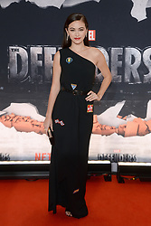 Actress Jessica Henwick attends the 'Marvel's The Defenders' New York Premiere at Tribeca Performing Arts Center in New York, NY, on on July 31, 2017. (Photo by Anthony Behar) *** Please Use Credit from Credit Field ***