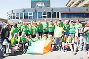 22/11/2015  repro fee. A group of  irish people travelled with Gorta-Self Help Africa travelled to the capital of Ethiopia Addis Ababa for the great Ethiopian run. In temperatures in the mid 30 degree heat and 40,000 people and a city at 7,500 feet above sea level, it's no mean feat.   .  Photo:Andrew Downes.
