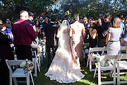 Yvonne & Brandon Smith celebrate their wedding with family and friends at the Rengstorff House in Mountain View, California, on September 7, 2015. (Stan Olszewski/SOSKIphoto)