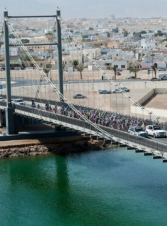 Pictures show : Stage Two Tour of Oman Sur to Wadi Dayqah Dam..The winner of the red/green jersey was Klaas Lodewijck, BMC (Belgium) and Peter SAGEN, LIQ (SVK) holder of the red, green and white jerseys .© Lloyd Images/Muscat Municipality Pictures show : Stage Two Tour of Oman Sur to Wadi Dayqah Dam..The winner of the red/green jersey was Klaas Lodewijck, BMC (Belgium) and Peter SAGEN, LIQ (SVK) holder of the red, green and white jerseys .© Lloyd Images/Muscat Municipality