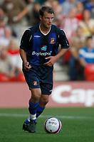 Photo: Steve Bond/Richard Lane Photography. Nottingham Forest v Sunderland. Pre Season Friendy. 29/07/2008. Teemu Tianio controls the ball