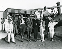 1921 Pilots at Rogers Field at Wilshire & Fairfax Blvds.