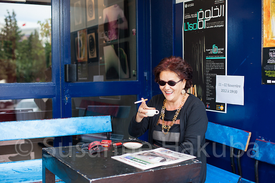 Zeyneb Farhat.<br /> Artistic director of El Teatro, a theatre and art space in Tunis, and a cultural journalist. El Teatro was Tunisia's first private theatre, and it has also served as a meeting space for various NGOs and political groups. Zeyneb is also part of Doustourna, a NGO which aims to meet the social and political demands in Tunisia after the revolution.