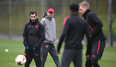 Arsenal Training and Press Conference - 02 May 2018