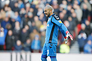 Middlesbrough goalkeeper Darren Randolph (23)  during the EFL Sky Bet Championship match between Middlesbrough and Leeds United at the Riverside Stadium, Middlesbrough, England on 9 February 2019.