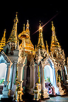 The Shwedagon Pagoda in Yangon is simply stunning at any time of day or night.