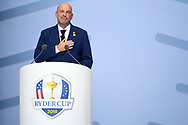 Thomas Bjorn (Captain) during the Opening Ceremony of Ryder Cup 2018, at Golf National in Saint-Quentin-en-Yvelines, France, September 27, 2018 - Photo Philippe Millereau / KMSP / ProSportsImages / DPPI