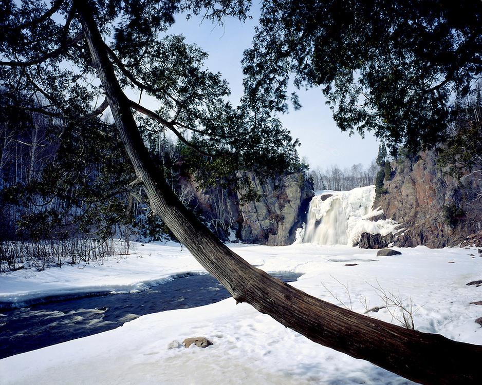 Tettegouche State Park, Minnesota, March, 1987.