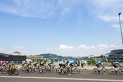 Peloton in Maribor during 1st Stage of 27th Tour of Slovenia 2021 cycling race between Ptuj and Rogaska Slatina (151,5 km), on June 9, 2021 in Sports park Kranj, Kranj, Slovenia. Photo by Vid Ponikvar / Sportida