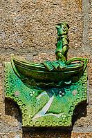 France, Manche (50), Cotentin, Barfleur, labellisé Les Plus Beaux Villages de France, poterie de Ingrid Guilbert // France, Normandy, Manche department, Cotentin, Barfleur, labeled Les Plus Beaux Villages de France, poterie from Ingrid Guilbert