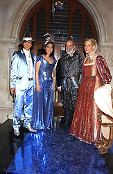 Left to right, ANDY WONG, PATTI WONG, PRINCE MICHAEL OF KENT and LEONIE FRIEDA at Andy & Patti Wong's annual Chinese New Year party, this year celebrating the year of the dog held at The Royal Courts of Justice, The Strand, London WC2 on 28th January 2006.<br /><br />NON EXCLUSIVE - WORLD RIGHTS