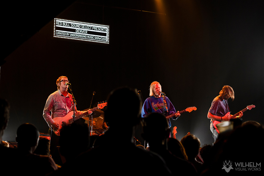 Slow Caves performs at Red Bull Sound Select Presents Denver at the Summit Music Hall in Denver, CO, USA, on 13 May, 2017.