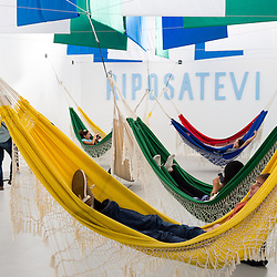 The Brazilian Pavilion at the 2012 Architectural Biennale in Venice.