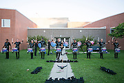 Shadow Drum and Bugle Corps performs at the 2nd Annual Shadow Showcase in Oregon, Wisconsin on August 6, 2016. <br /> <br /> Beth Skogen Photography - www.bethskogen.com