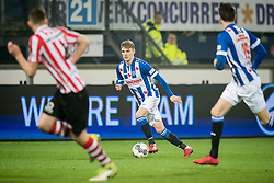 Martin Odegaard of sc Heerenveen during the Dutch Eredivisie match between sc Heerenveen and Sparta Rotterdam at Abe Lenstra Stadium on January 26, 2018 in Heerenveen, The Netherlands