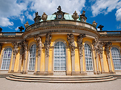 Palace at Sanssouci in Potsdam Germany
