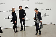 PETRA NEMCOVA; RICHARD PHILLIPS; JOSEPHINE MECKSEPER, Richard Phillips, Most Wanted. Private view at White Cube. Hoxton Sq. London. 27 January 2011, -DO NOT ARCHIVE-© Copyright Photograph by Dafydd Jones. 248 Clapham Rd. London SW9 0PZ. Tel 0207 820 0771. www.dafjones.com.