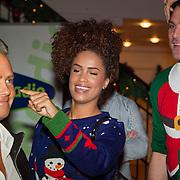 NLD/Hilversum/20151207- Sky Radio's Christmas Tree for Charity, Danny de Munk, Sharon Doorson en Xander de Buisonje