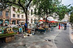 Street market in Strasbourg, France<br /> <br /> (c) Andrew Wilson   Edinburgh Elite media
