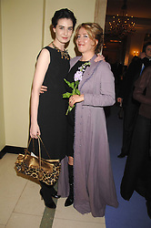 Left to right, ERIN O'CONNOR and EMMA THOMPSON at the 10th Anniversary Party of the Lavender Trust, Breast Cancer charity held at Claridge's, Brook Street, London on 1st May 2008.<br /><br />NON EXCLUSIVE - WORLD RIGHTS
