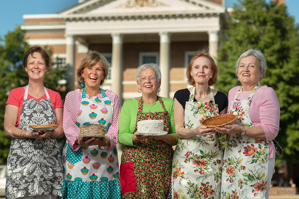 The First United Methodist Church in High Point has a become a long-standing tradition serving lunch to Furniture Market-goers as a fundraiser. <br /> <br /> Amy Josey<br /> Betty Cadick<br /> Susan Tuttle<br /> Gloria Halstead<br /> Anne Harris<br /> <br /> Photographed, Thursday, May 16, 2019, in Greensboro, N.C. JERRY WOLFORD and SCOTT MUTHERSBAUGH / Perfecta Visuals