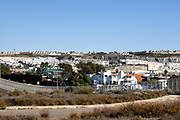 Housing in Tijuana Mexico Seen From Border Field State Park