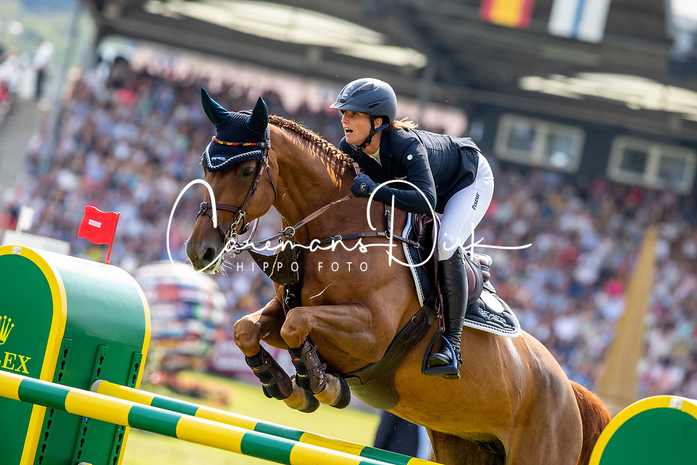 Blum Simone, GER, DSP Alice<br /> CHIO Aachen 2019<br /> Weltfest des Pferdesports<br /> © Hippo Foto - Stefan Lafrentz<br /> Blum Simone, GER, DSP Alice