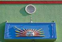 "Store gallery sign on Matlacha,Forida""s Gulf Coast islands.USA."