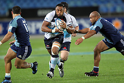Sekope Kepu. Investec Super Rugby - Blues v Waratahs, Eden Park, Auckland, New Zealand. Saturday 16 April 2011. Photo: Clay Cross / photosport.co.nz