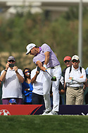 Sergio Garcia (ESP) on the 3rd tee during Round 2 of the Omega Dubai Desert Classic, Emirates Golf Club, Dubai,  United Arab Emirates. 25/01/2019<br /> Picture: Golffile   Thos Caffrey<br /> <br /> <br /> All photo usage must carry mandatory copyright credit (© Golffile   Thos Caffrey)