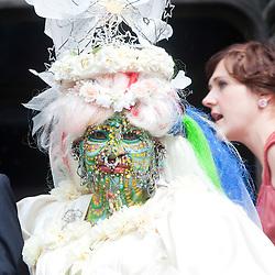 Elaine Davidson weds in Edinburgh