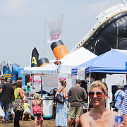 Festival goers are pictured Sunday August 17, 2014 during Ribfest Battleship Park in Wilmington, N.C. (Jason A. Frizzelle)